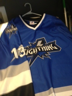 Customized Lightning Jerseys  $90