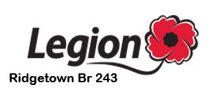 •	Ridgetown Royal Canadian Legion Br 243